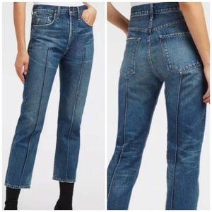 Citizens of Humanity Gia Pintuck Ankle Jeans 26